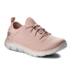 Skechers Girls Bold Move Light Pink Trainer