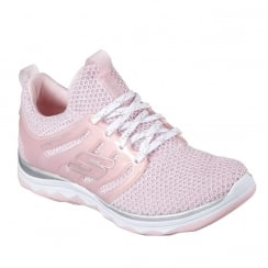 Skechers Girls Diamond Runner Sparkle Sprints Lt Pink Trainer