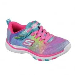 Skechers Girls Infant Lite Dash N Dazzle Pink Sneaker