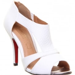 Kate Appleby Royal Lady White Sandal