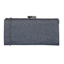 Lotus Vibe Navy Glitz Clutch Bag - 1752