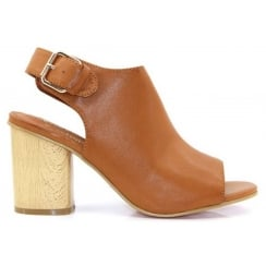 Kate Appleby Queen Peep Toe Ankle Boot - Tan