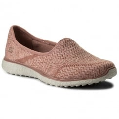 Skechers Womens All-Mine Rose Slip On Trainers