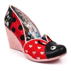 Irregular Choice Lady Bee - Red