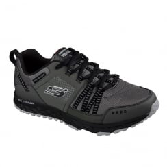 Skechers Mens Escape Plan Charcoal/Black Sneakers