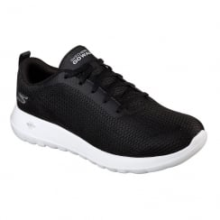 Skechers Mens GOwalk Max Black Comfort Sneakers