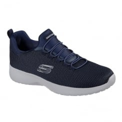 Skechers Mens Dynamight Navy Sneakers
