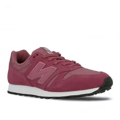 New Balance Womens Suede Berry Sneakers
