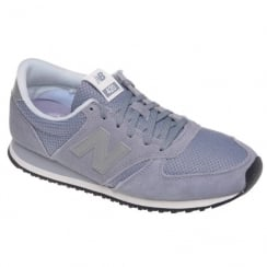 New Balance Womens Suede Lilac Sneakers