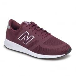 New Balance Mens Burgundy Mesh MRL420 Re-Engineered Sneakers