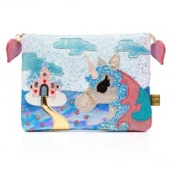 Irregular Choice King Of The Castle Pouch - White