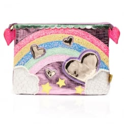 Irregular Choice Over The Rainbow Pouch - Pink