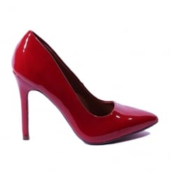 Kate Appleby Kent Red Heeled Pointed Court Shoe