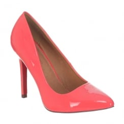 Kate Appleby Kent Coral Heeled Pointed Court Shoe