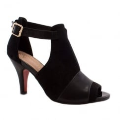 Kate Appleby Margate Black Peep-Toe Open Boot