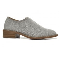 Alpe 3627 Grey Micro Stud Slip On Shoe