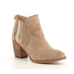Alpe 3492 Ankle Boot With Fringe Detailing