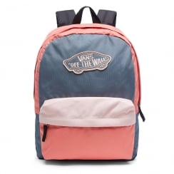Vans Realm Backpack Blue/Grey/Coral V00NZ0P5C