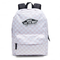 Vans Realm Backpack Baby Pink/White V00NZ0P2A