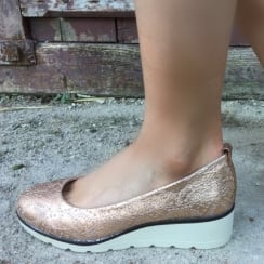Zanni & Co Rose Gold Wedge