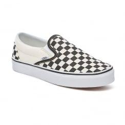 Vans Unisex Black/White Checkerboard Textile Slip-On