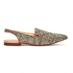 Menbur 9436 Peach Glitter Shoe