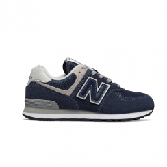 New Balance GC574 Core Plus Suede Navy Trainers