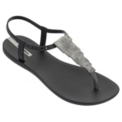 Ipanema Charm Black Aztec Sandal