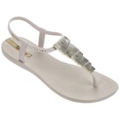 Ipanema Charm Ivory Aztec Sandal