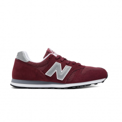 New Balance ML373BN Urban Burgundy Suede Sneakers