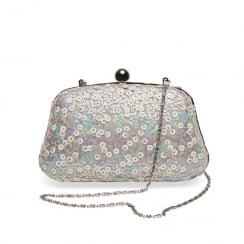 Joe Browns Sequin Katherina Pastel Pink Pouch Bag