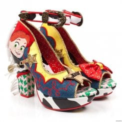 Irregular Choice Rootinest Tootinest Cowgirl Peep Toe High Heels