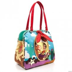 Irregular Choice Ride Like The Wind Bag - Red