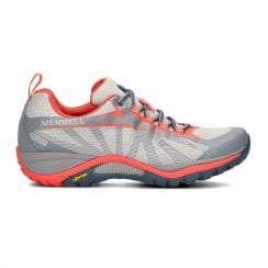 Merrell Siren Edge Womens Walking Shoes - Grey/Orange