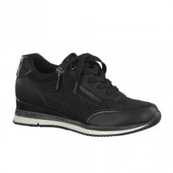 Marco Tozzi Womens Sneaker Shoes - Black
