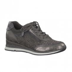 Marco Tozzi Womens Sneaker Shoes - Grey