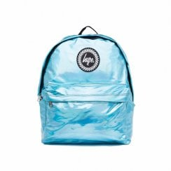 Hype Holographic Backpack - Aqua Blue