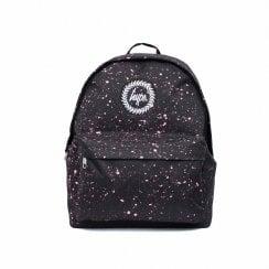 Hype Speckle Backpack - Black/Pink