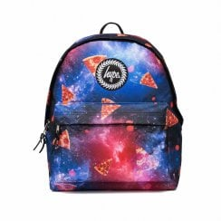 Hype Space Pizza Print  Backpack - Blue Multi