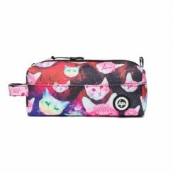 Hype Multi Cosmo Cat Pencil Case Multi