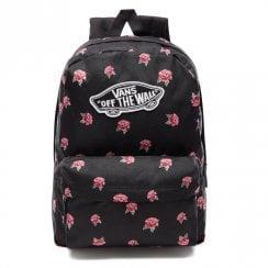 Vans Realm Girls 22L Backpack - Black/Rose