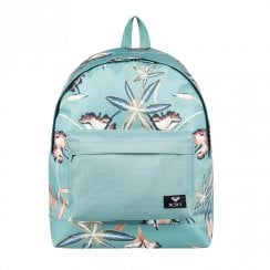 Roxy Be Young Flower Backpack 24L - Turquoise