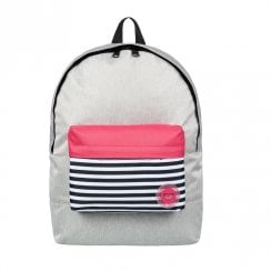 Roxy Sugar Baby Colorblock Small Backpack 16L - Grey/Pink