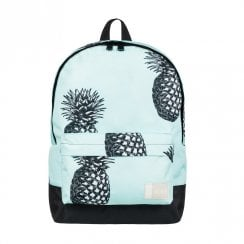 Roxy Sugar Baby Big Pineapple Small Backpack 16L - Turquoise/Black