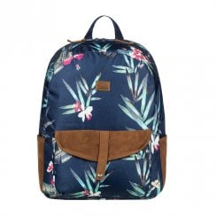 Roxy Carribean Flower Backpack 18L - Navy/Multi