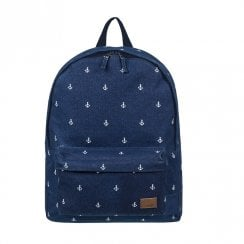 Roxy Sugar Baby Canvas Small Backpack 16L - Navy Blue