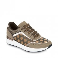 Ruby Shoo Darcy Womens Trainers Shoes - Gold