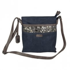 182234Rieker Women Handbag - Navy