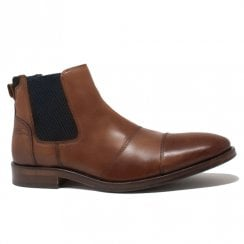Lloyd & Pryce Mens Douglas Camel Ankle Boots