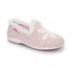 Lunar St Moritz Full Slippers - Pink